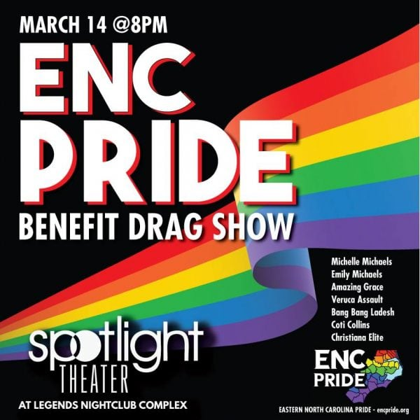 ENC Pride Fundraiser at Legends