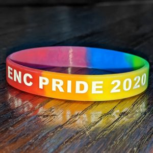 ENC Pride Wristband Front