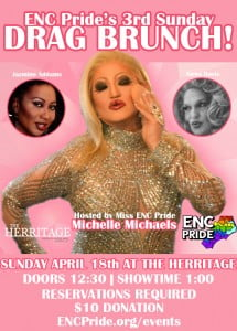 ENC Pride April Drag Brunch