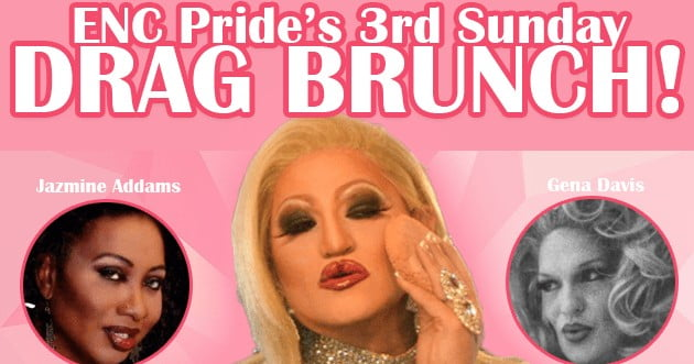 April ENC Pride Drag Brunch