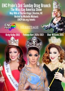 ENC Pride Miss Gay America Drag Brunch